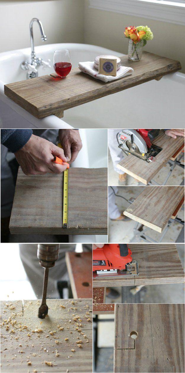 Decorating on a Budget   Badezimmer, Wohnideen und Holz