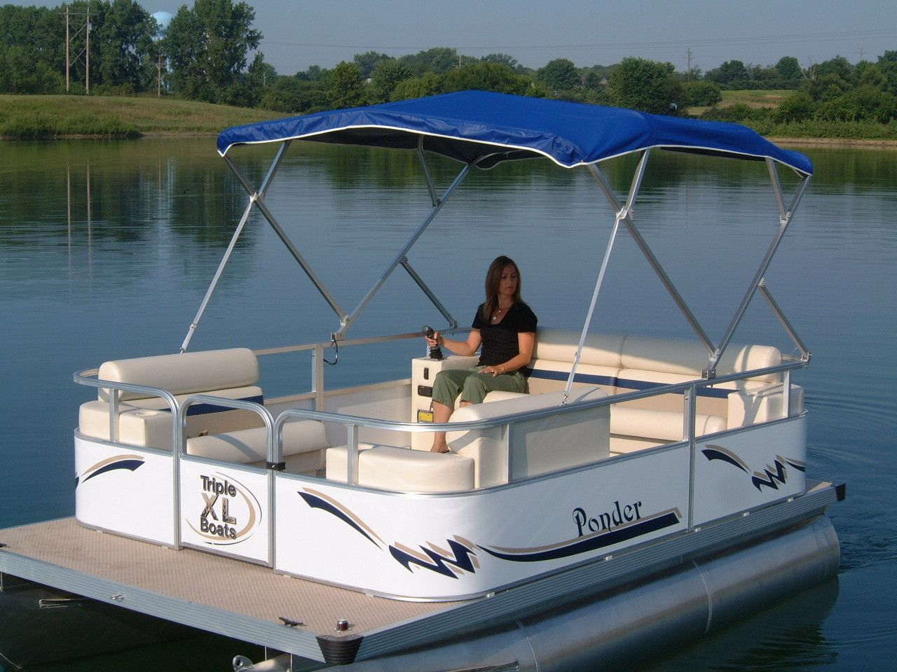 Small Pontoon Boats Tekne Pinterest Pontoon Boating