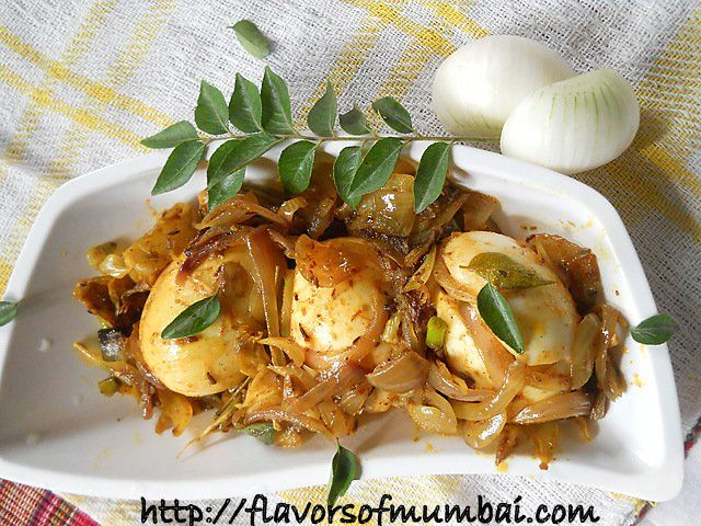 Egg Masala Dry How To Cook Indian Egg Masala Dry Egg Masala Dry Is