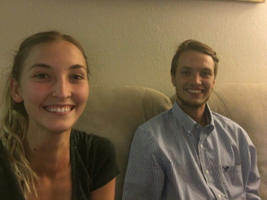 Jacquie and Matt in Chico for College- 7-2016!