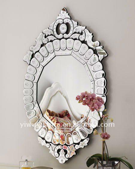Hecho a mano espejo veneciano antiguo espejo - Espejo veneciano antiguo ...