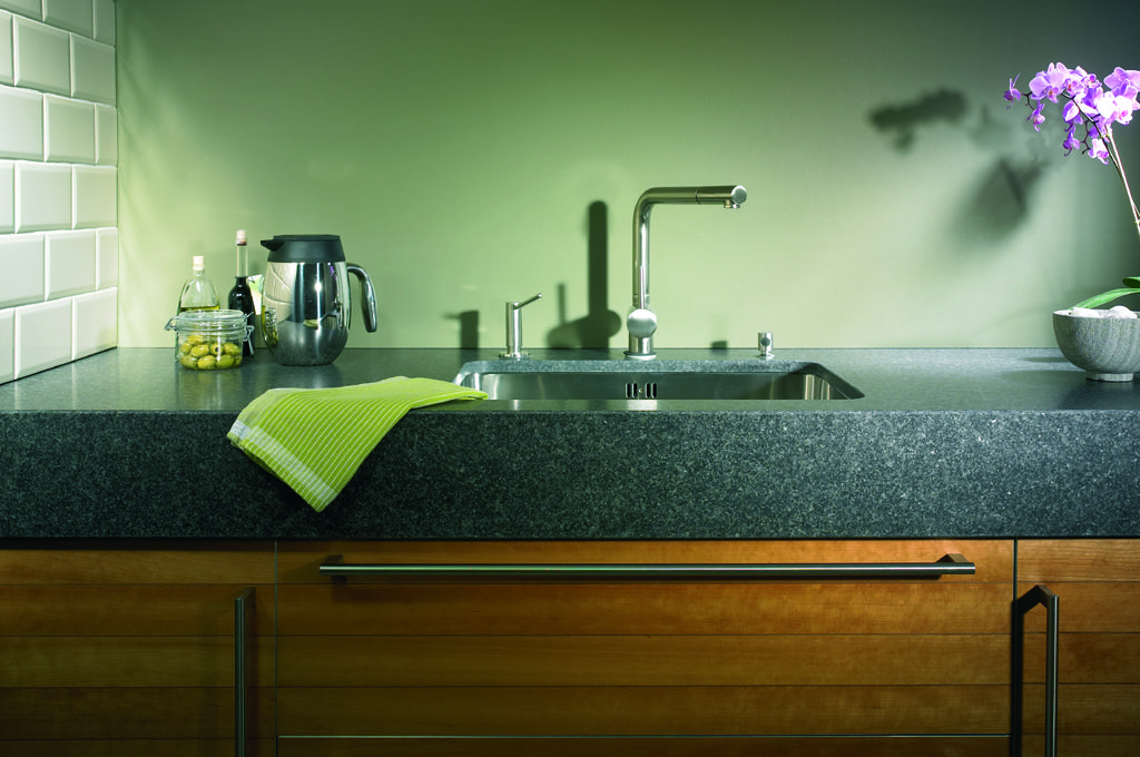 Granieten keukenblad van Kemie
