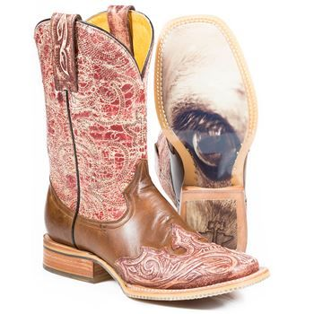 364c30485ef Tin Haul Women's Barb'd Wire Western Boots in 2019 | Boots | Womens ...