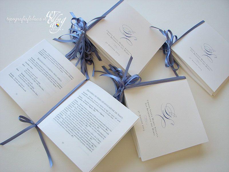 Libretti Messa Wedding Design Tipografia Falisca Matrimonio Fai Da Te Shabby Partecipazioni Nozze Idee Per Matrimoni