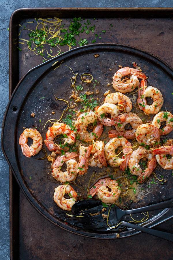 Classic Shrimp Scampi #shrimpscampi