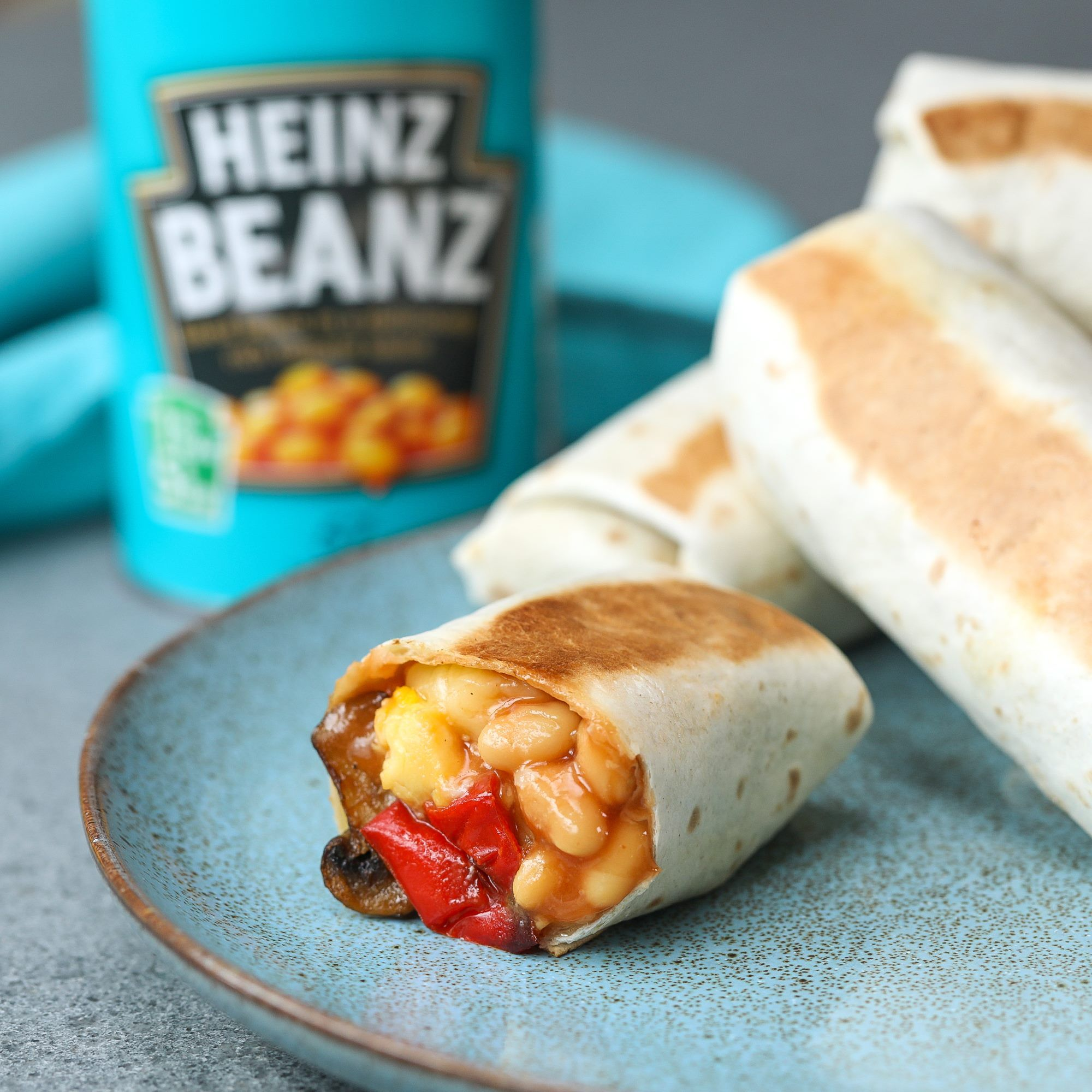 Heinz Beanz Breakfast Burrito 5 Trending Recipes With Videos Recipe Breakfast Burritos Recipes Food