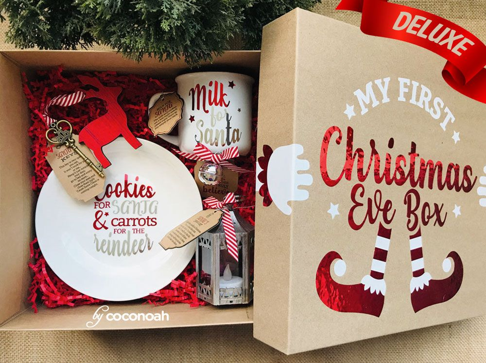 Christmas Gifts Christmas Gift Box Customized Gifts The Perfect Christmas Present Cookies For Santa Christmas Eve Gift Christmas Gift Box Christmas Packaging