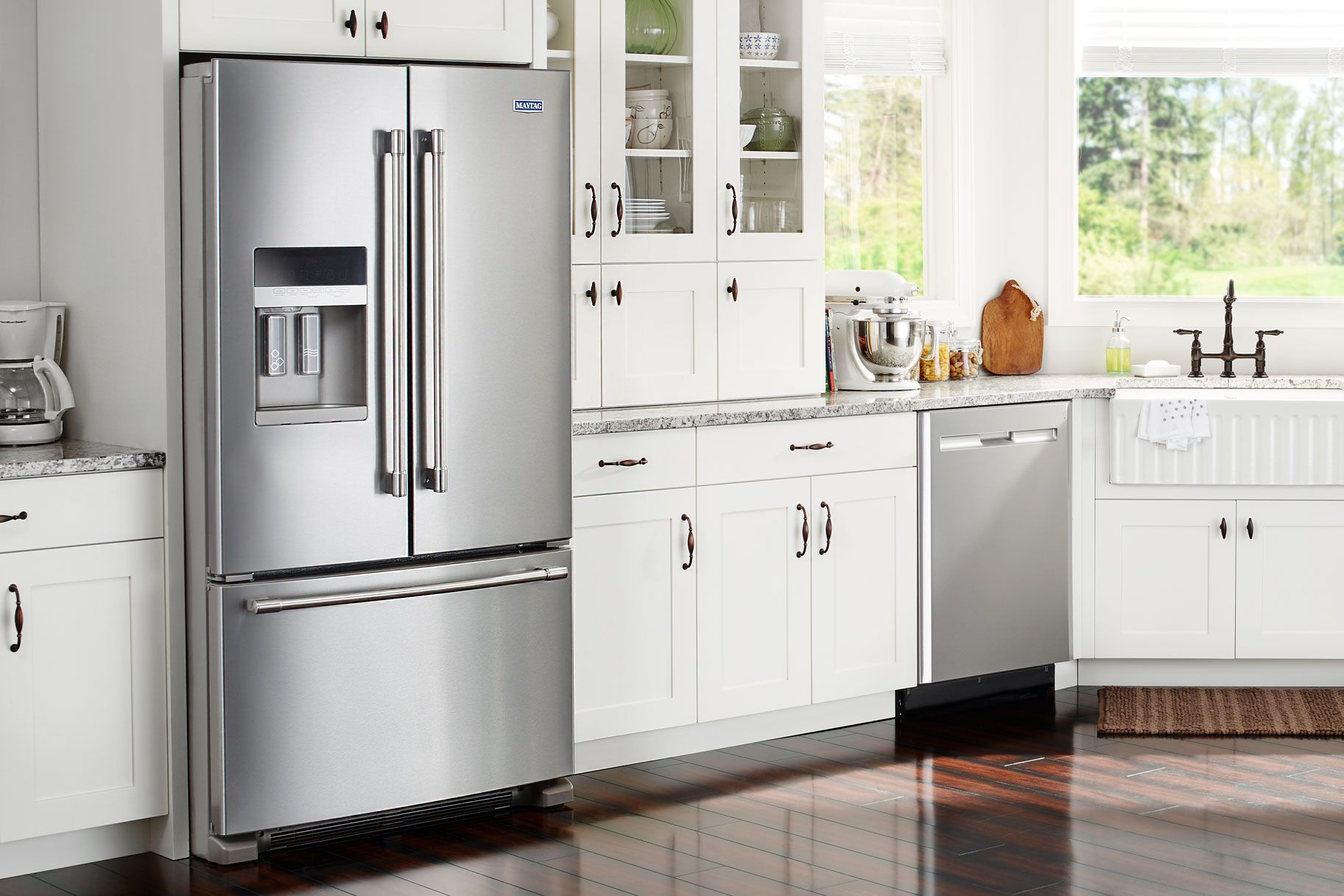 Are You A Total Neat Freak You Need This Fingerprint Proof Fridge In Your Life Maytag Kitchen Neat Freak Kitchen Appliances