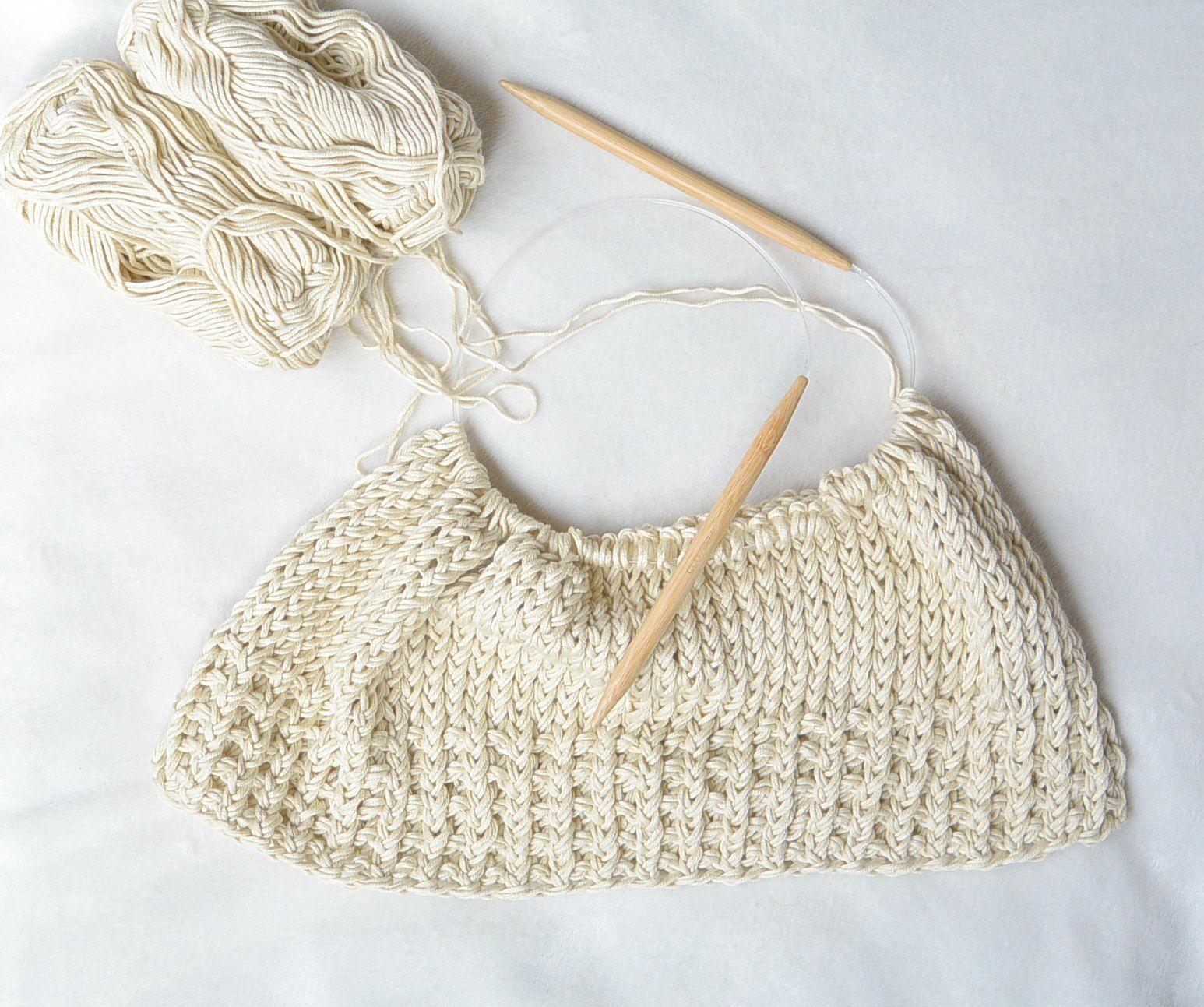 Easy Knit Top Free Pattern Progress | stuff to make | Pinterest ...