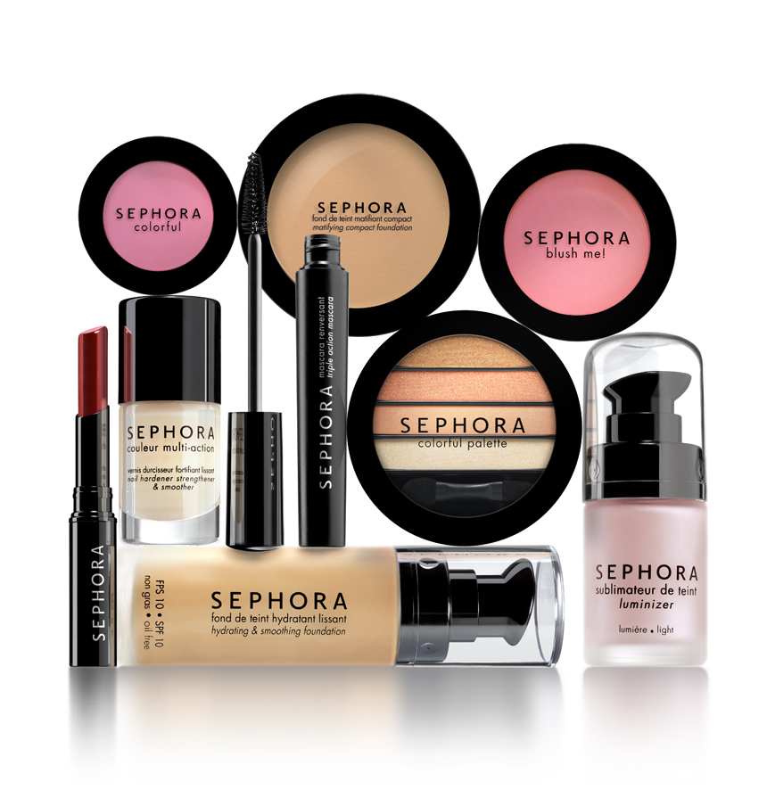 Win this year's beauty products Sephora brands, Sephora