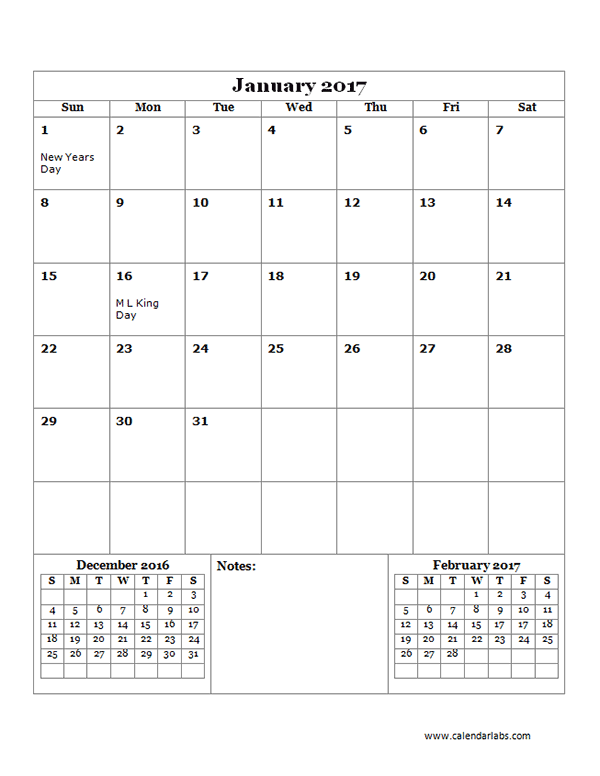 Monthly Calendar Template   Ants Science