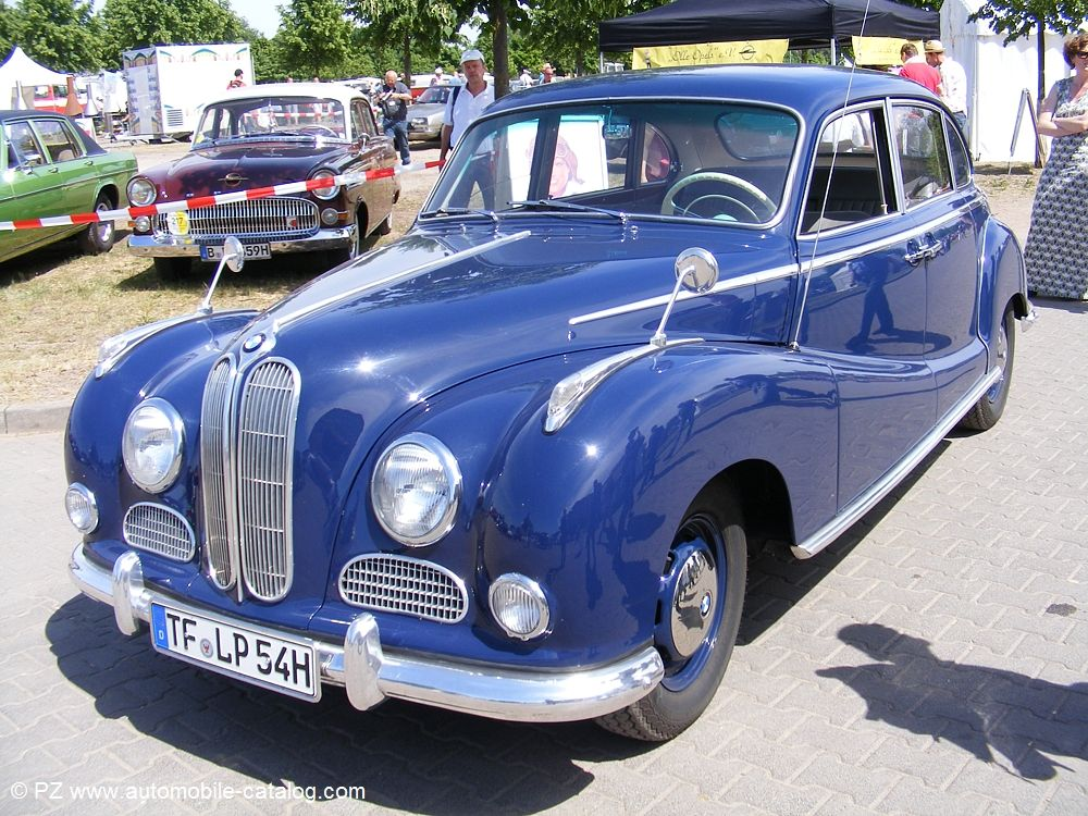 1954 BMW 502 2.6L | BMW: 1930 - 1979 | Pinterest | BMW and Cars