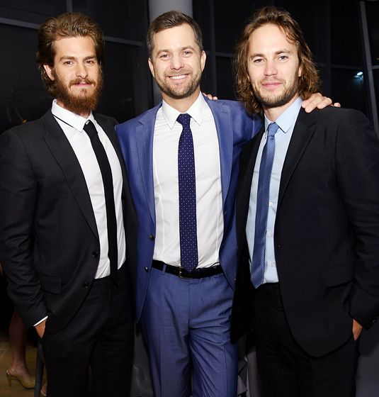 Andrew Garfield, Joshua Jackson, and Taylor Kitsch suited up for the 2014 GQ Gentlemen's Ball in New York City.