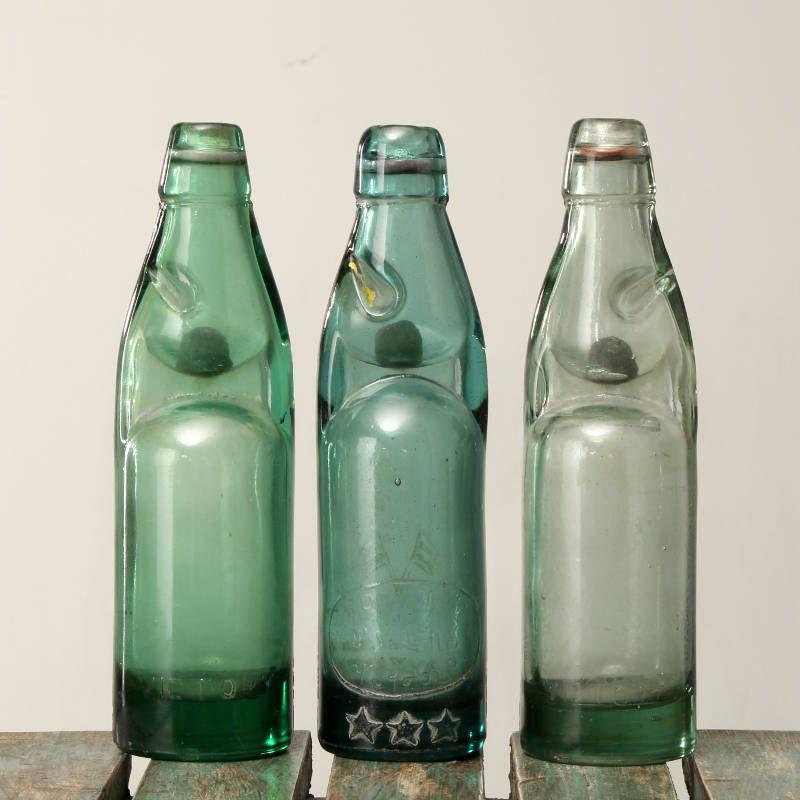 Andy Thornton Ltd Codd Neck Glass Soda Bottle Contract Furniture Pub Decor Bottle