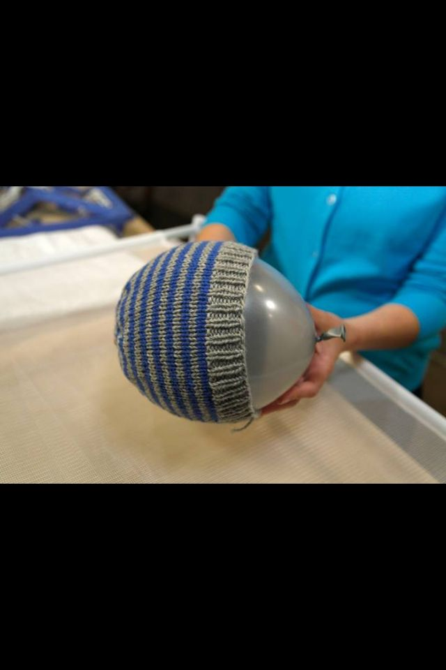 How to measure crocheted hats