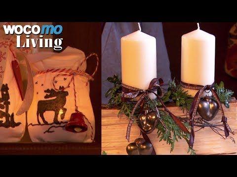 Adventsgesteck und Winterlicht - Weihnachtsdeko selbstgemacht! Mit Anleitung
