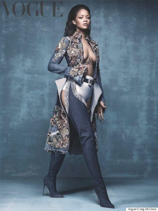 Rihanna for British Vogue April 2016