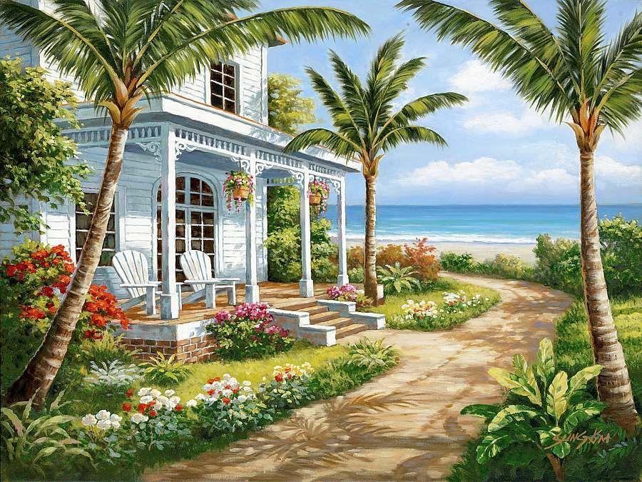 summer cottage wallpaper - photo #9