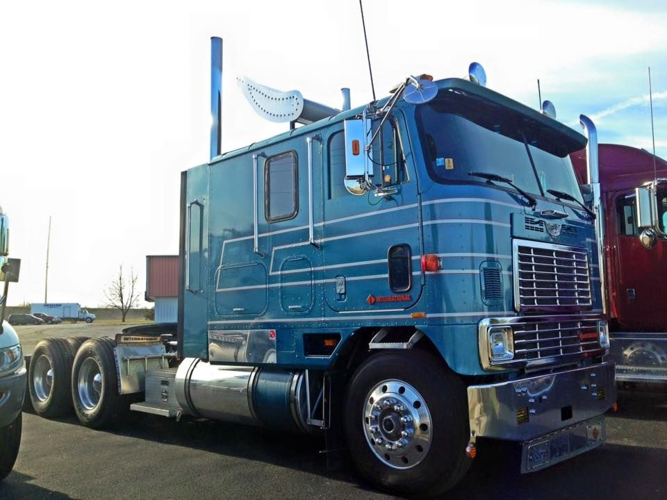 Antique International Cabover : International eagle coe trucks cabover classic