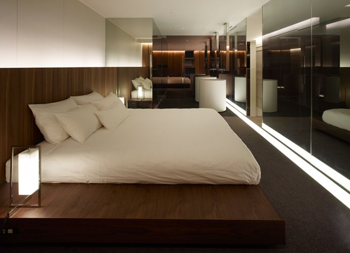 The tokyo towers guest room by curiosity beautiful way to - Zen bedroom ideas on a budget ...