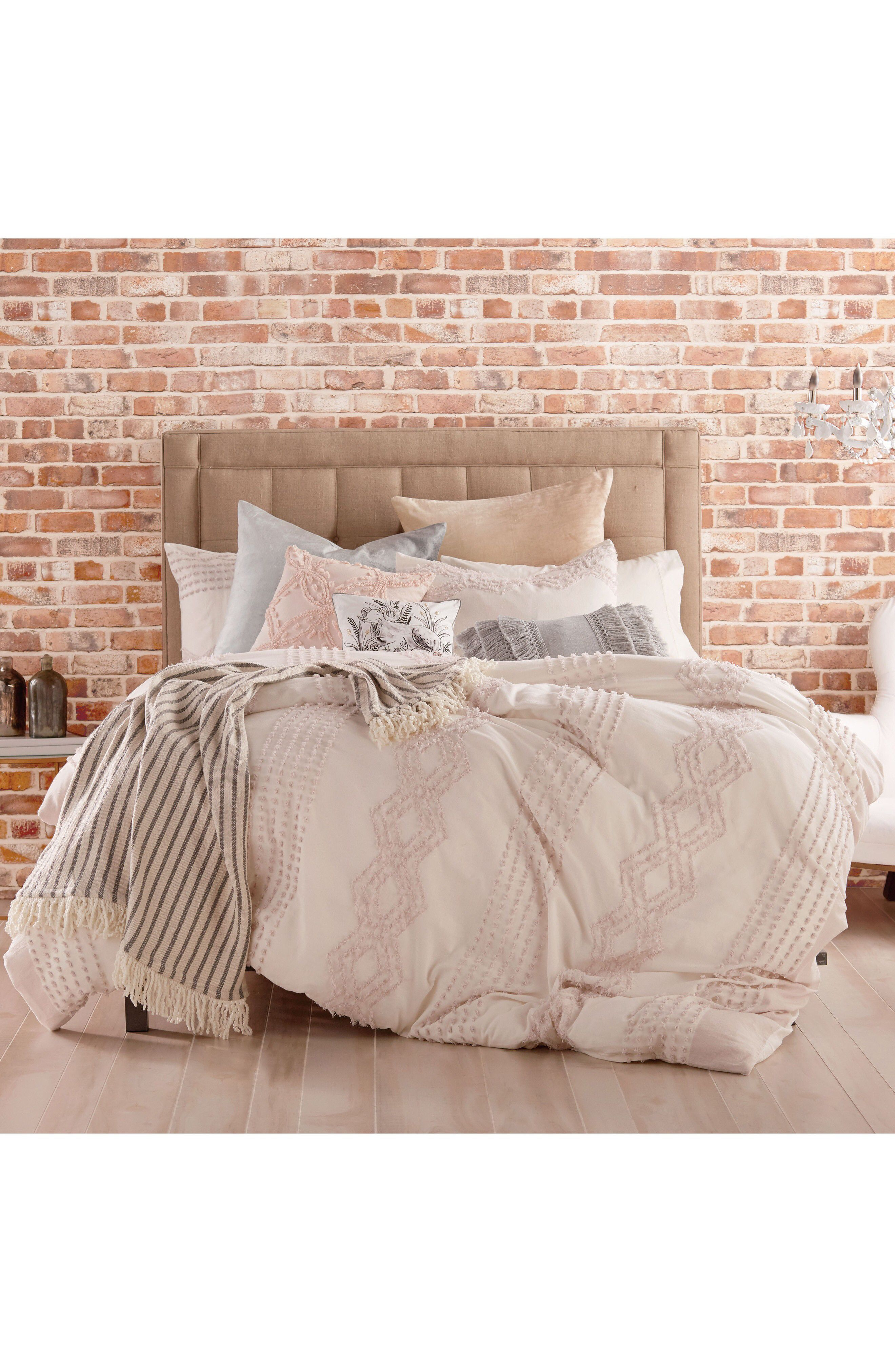 Peri Home Cut Geo Chenille Comforter & Sham Set Available