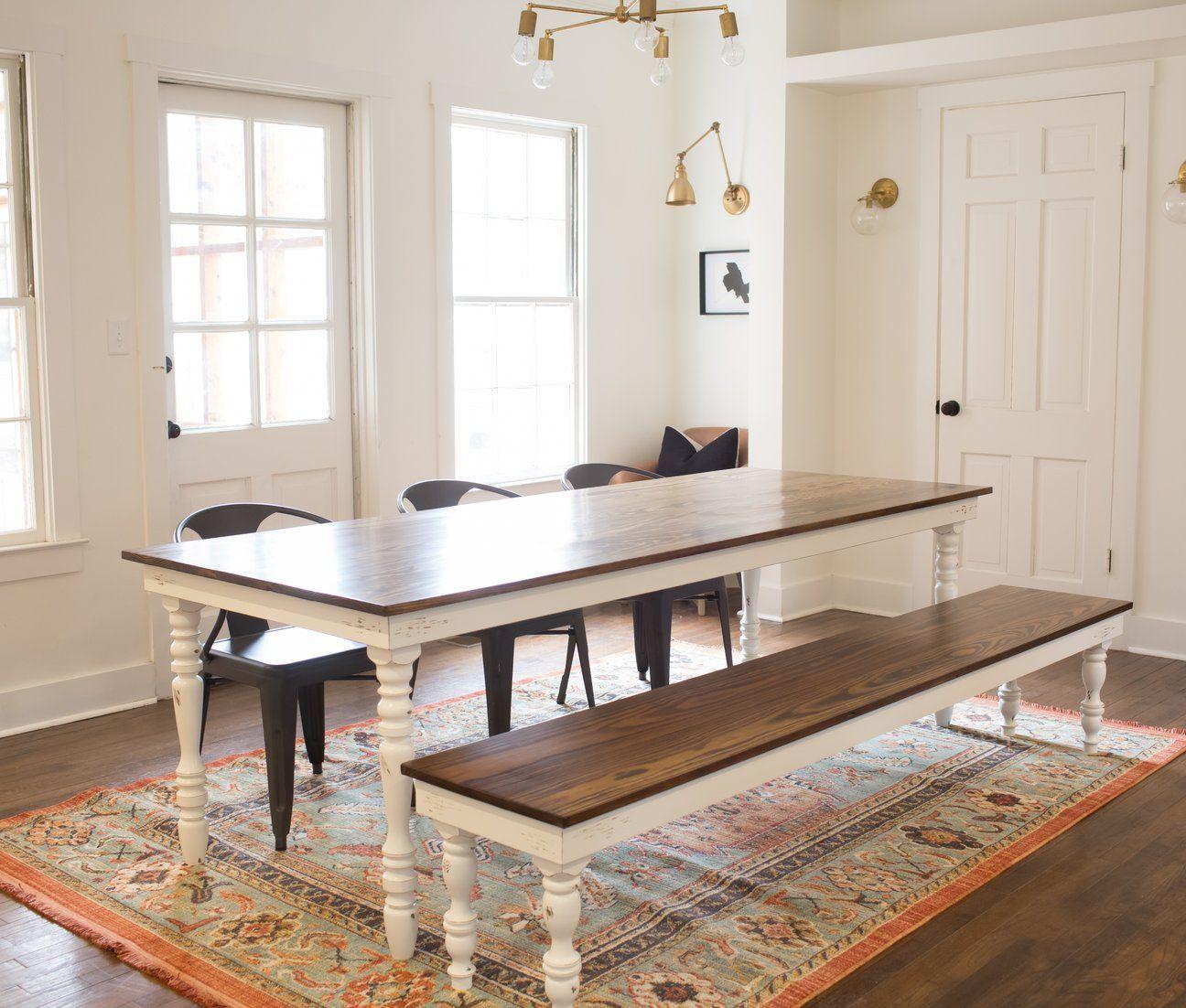 Original Farmhouse Dining Table   Farmhouse dining table ...