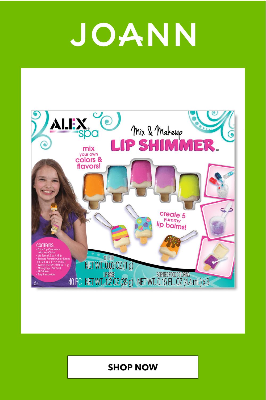 Spa Mix N Makeup Lip Shimmer Kit | JOANN