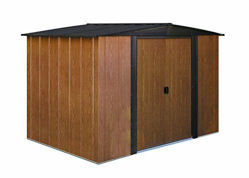 Arrow Wl86 Woodlake 8 Feet By 6 Feet Steel Storage Shed A Steel Storage Sheds Metal Shed Storage Shed
