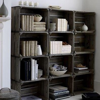 wandregal aus paletten selber bauen als coole einrichtungsidee wohnzimmer - Wohnzimmer Regal Selber Bauen