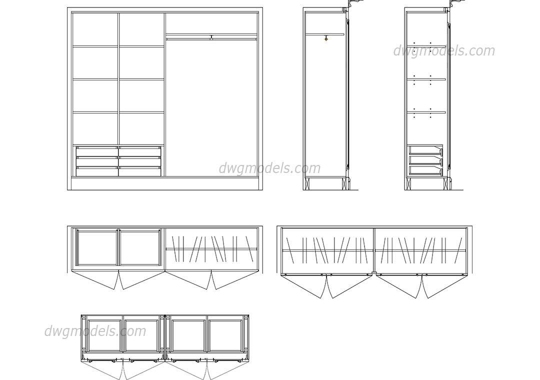 Image result for wardrobes CAD Wadrobe design, Cad blocks