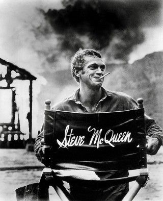 Image result for steve mcqueen smoking