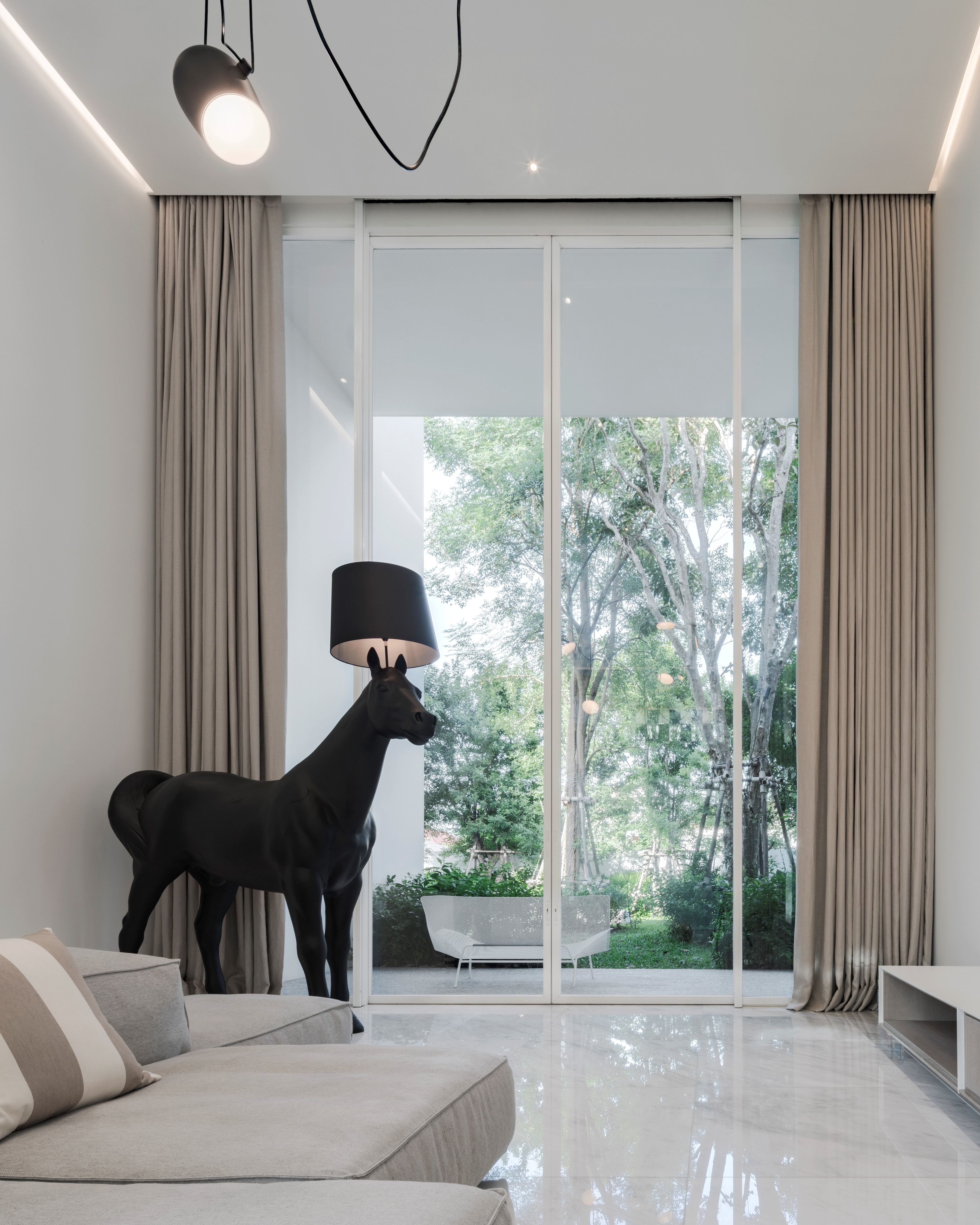 Rabbit Residence Picture Gallery In 2020 Open Space Interior Design Styles Contemporary House Design