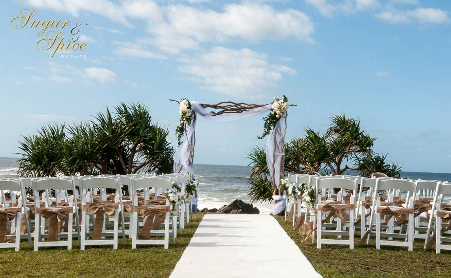 Beach Wedding Gold Coast Wedding Decorator