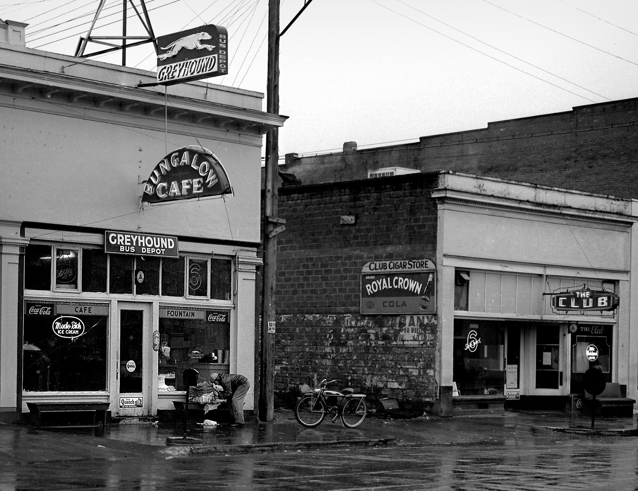 The Bungalow Cafe In Junction City Oregon Photo By F R Schultz 1950 Junction City Oregon Ferry Building San Francisco Junction City