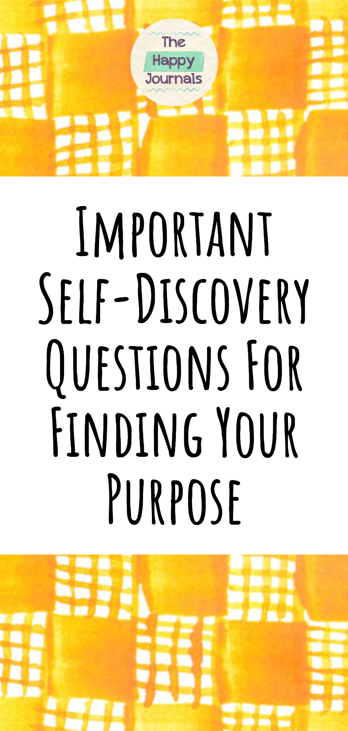 Important Self Discovery Questions For Finding Your