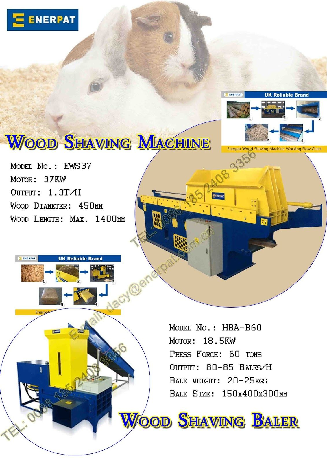 Recycling Enerpat China The World Best Combination For Horse Beeding And C Shaving Machine Shaving Horse Bedding