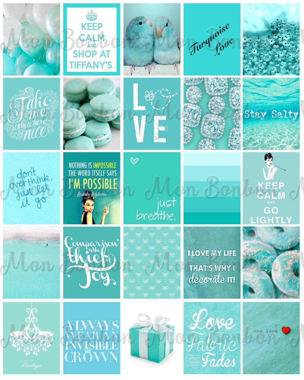 Tiffany Planner Printable Sticker Sheet - Breakfast at Tiffany's Sticker Sheet…