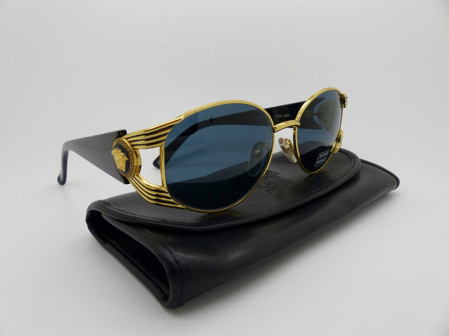 ab82a700a66e Rare Vintage Gianni Versace Sunglasses Mod S64 Col 49L by VSOx on Etsy