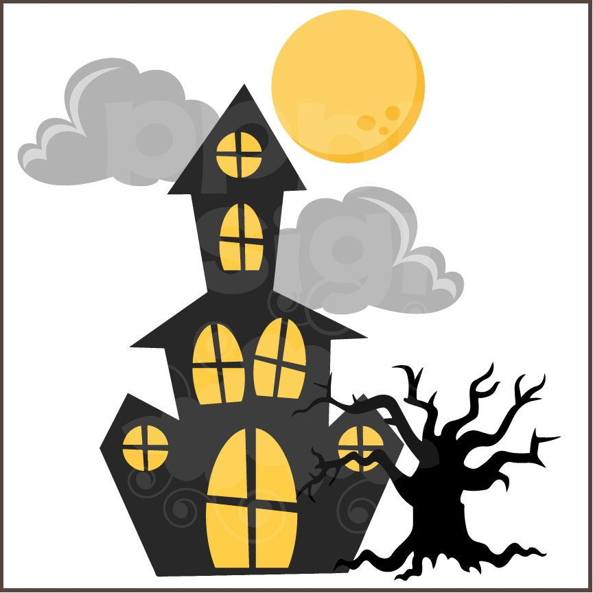 Gardner Haunted House: Pin By Fru Rosenkilde On Clip Art Hollyday
