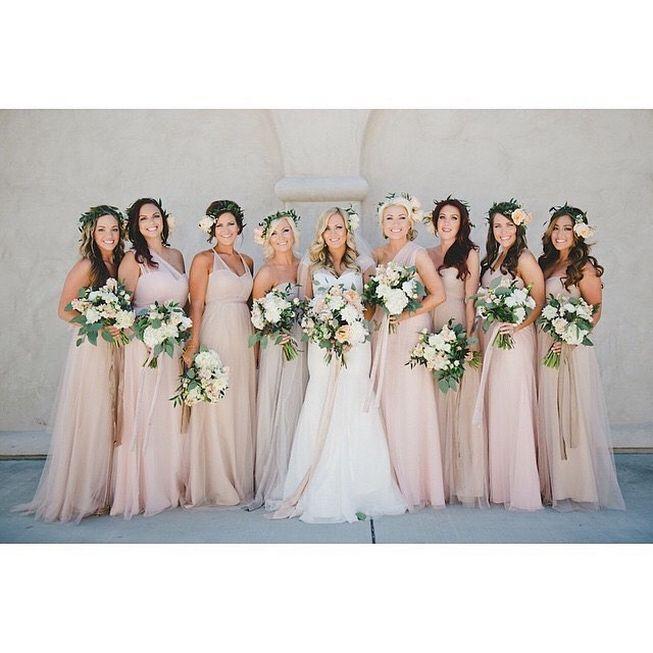 21++ Champagne rose bridesmaid dresses ideas