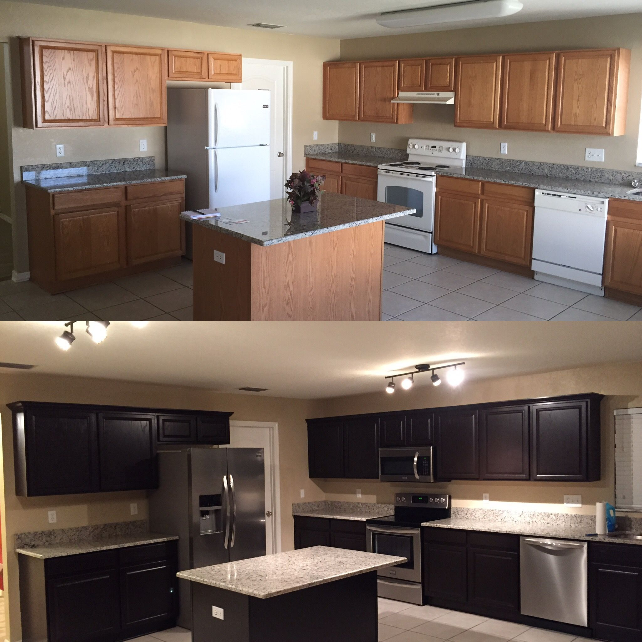 My DIY Kitchen remodel on the cheap..   Imgur kitchenremodelreddit   Cheap kitchen remodel ...