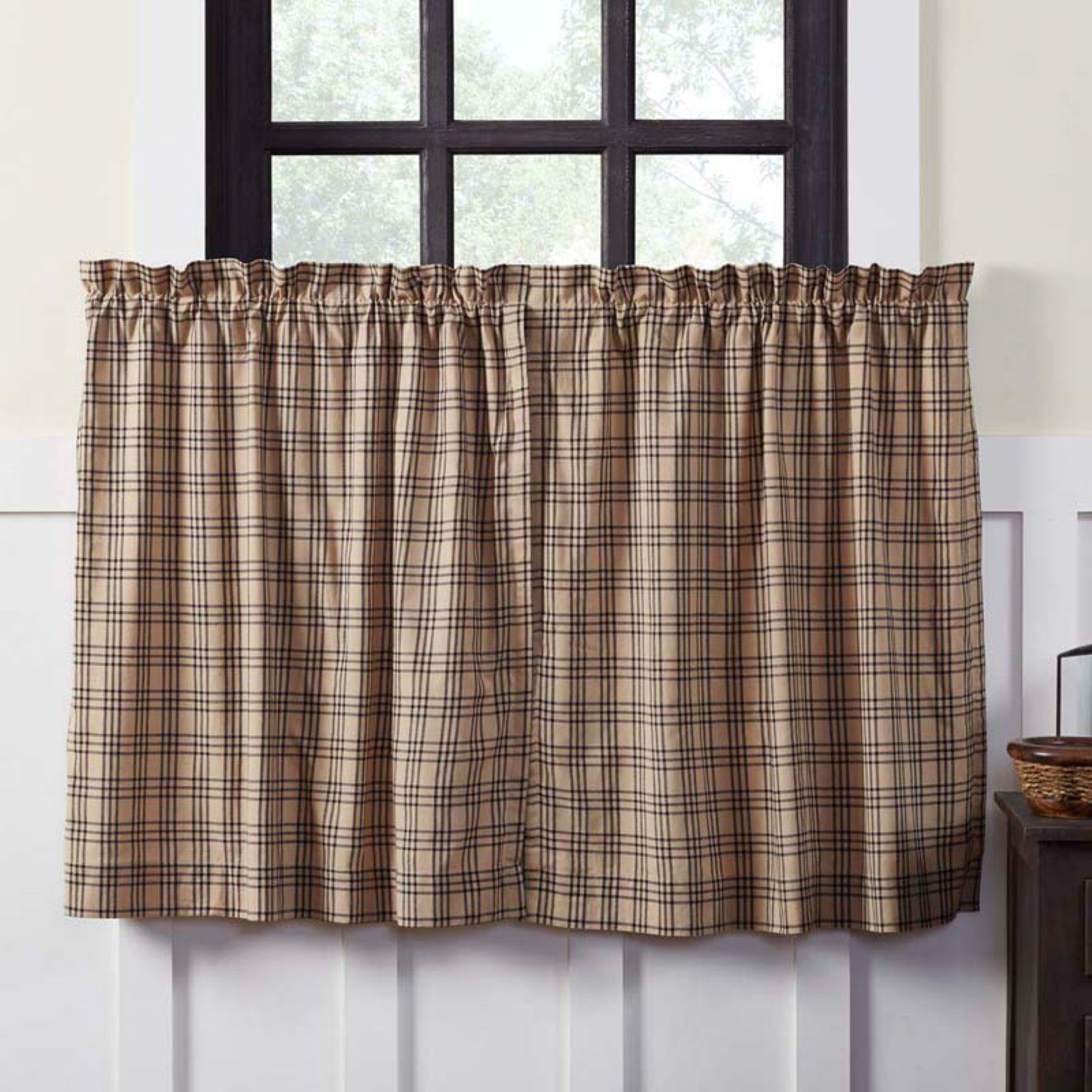 Vhc Brands Sawyer Mill Curtain Tier Set Tier Curtains Cafe Curtains