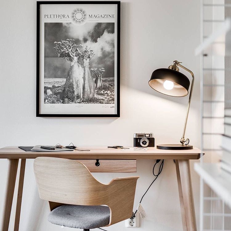 Ikea \'Lisabo\' desk & office chair @revenymakleri | Go Office ...