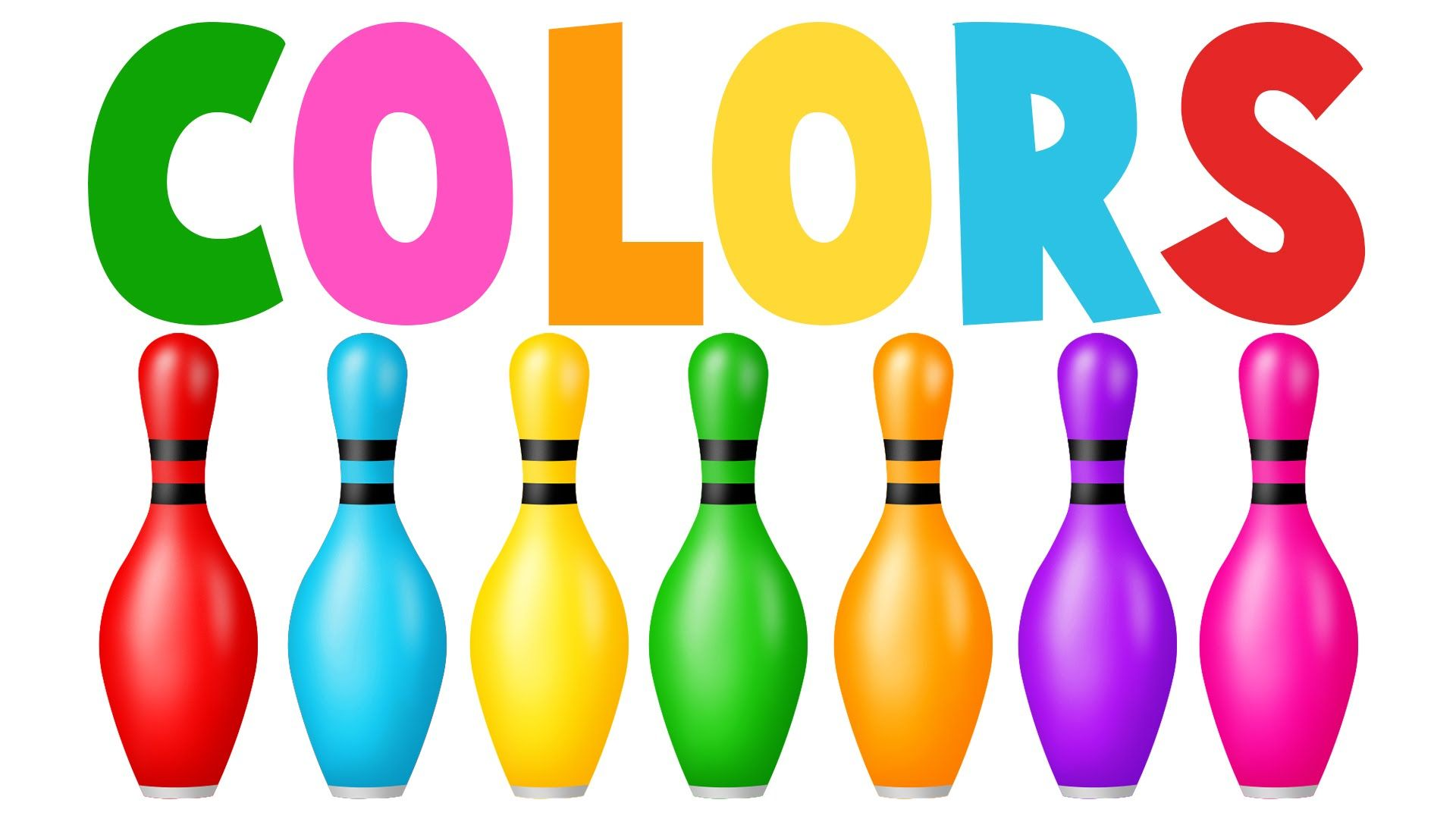 Learn Colors With Colors Bowling Game Learning Colors