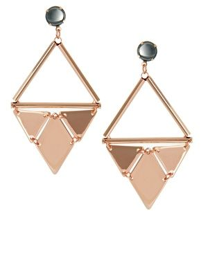 Enlarge ASOS Swinging Triangle Earrings