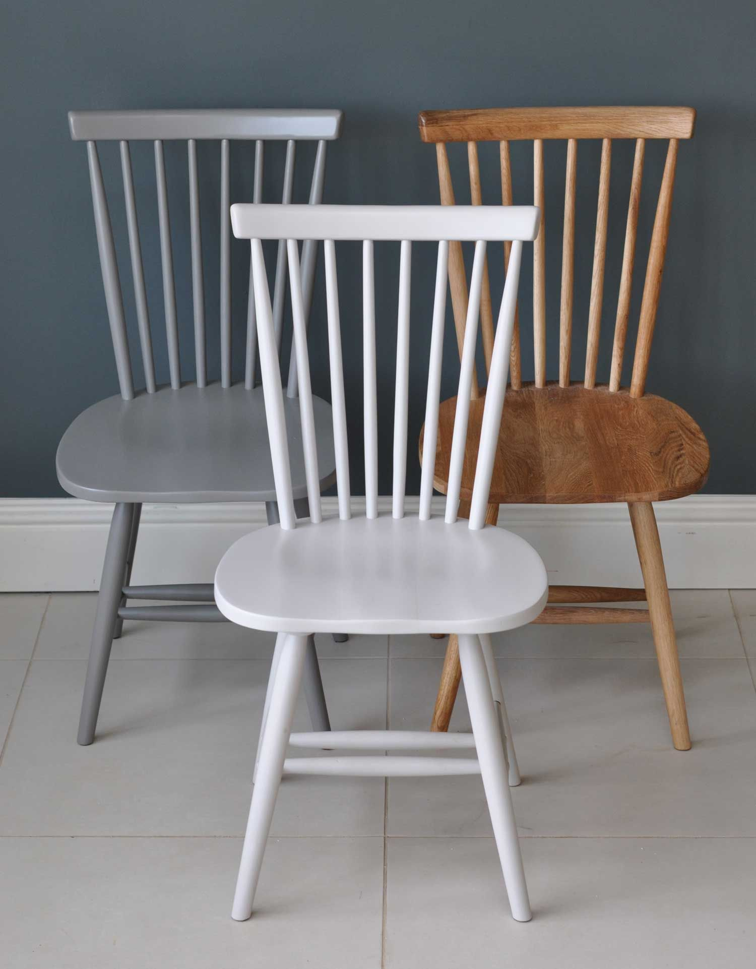 Peachy Spindle Back Valley Dining Chair Painted Or Natural Oak Pdpeps Interior Chair Design Pdpepsorg