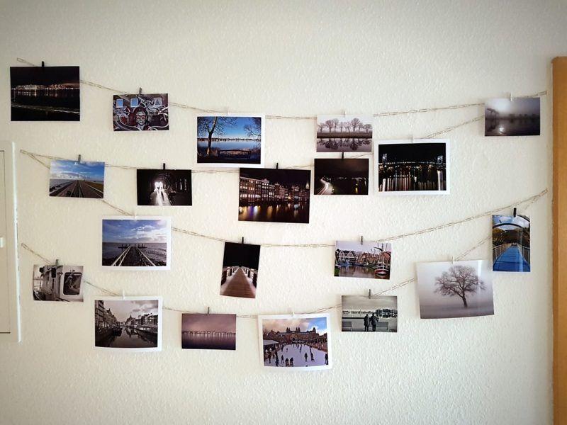 Fotowand gestalten ohne Bilderrahmen – Ideen und