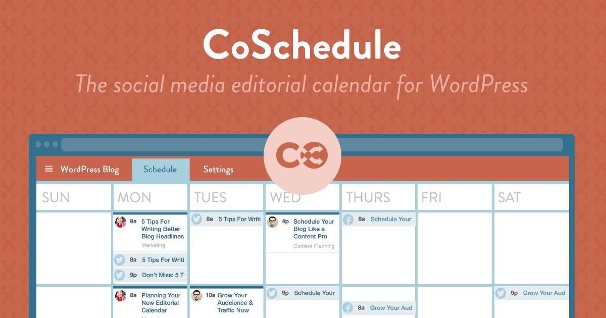 Blog Editorial Calendar Template From Hubspot  Editorial Calendar