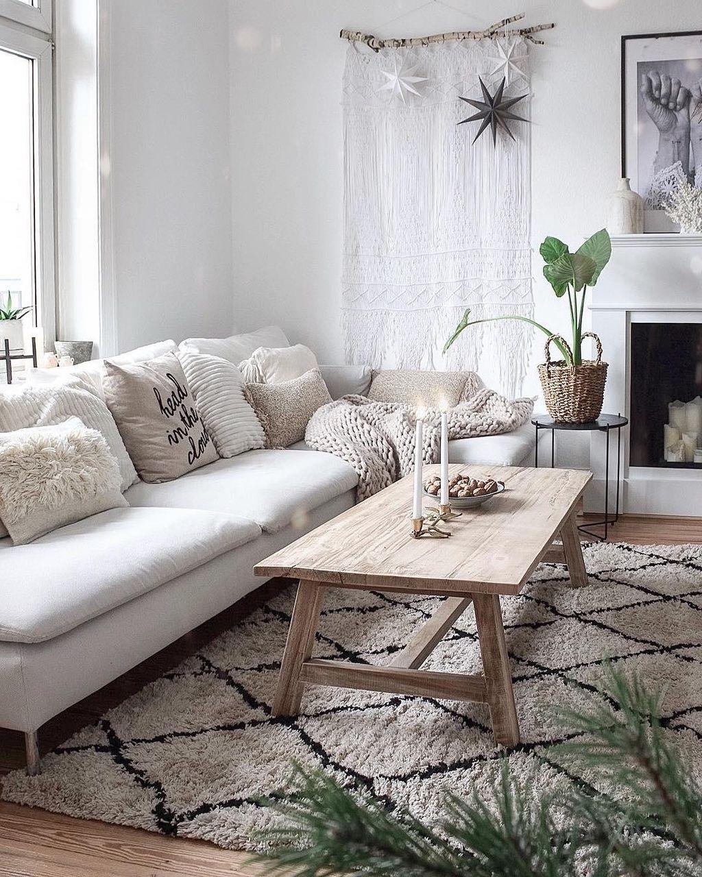 Einen schönen Feierabend wohnzimmer boho scandi ...