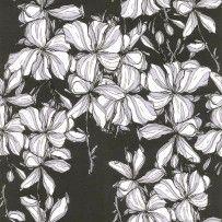 Papel de Parede Origem Ipê branco preto com  branco 1600